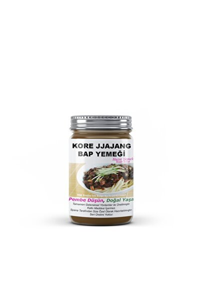 SPANA Kore Jjajang Bap Yemeği Ev Yapımı Katkısız 330 gr