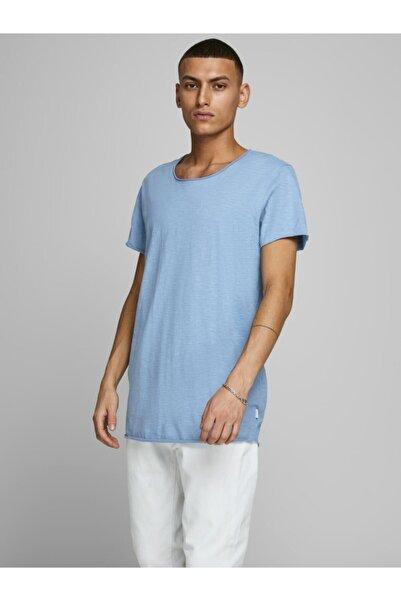 Jack & Jones Erkek Turkuaz Kısa Kollu T-shirt