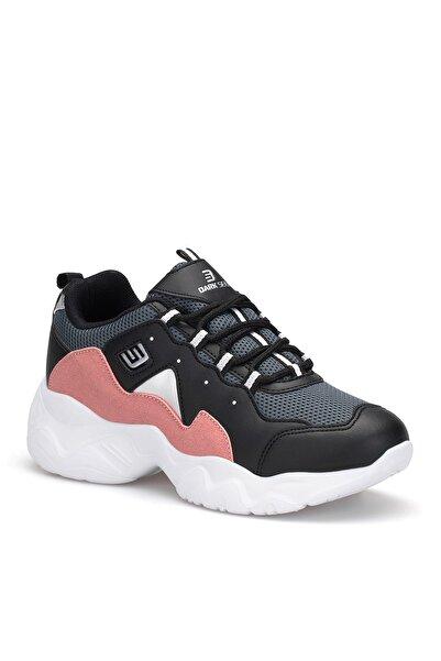 DARK SEER Siyah Pudra Kadın Sneaker