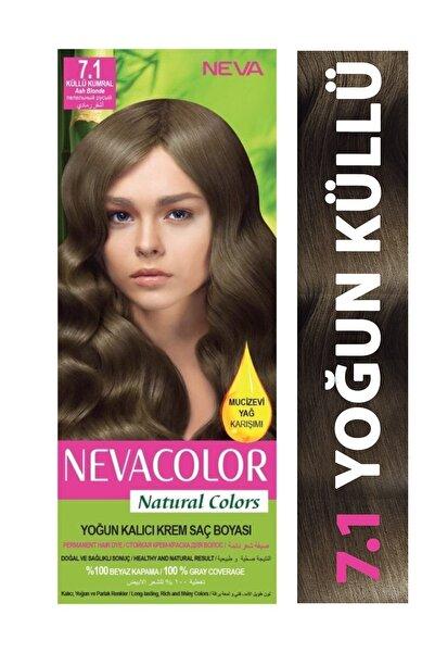 Neva Color Saç Boyası Seti 7.1 Küllü Kumral 8698636612340