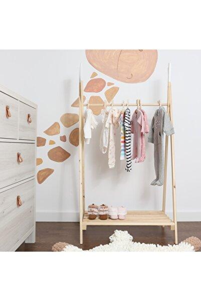 Mobyconcept Çocuk Odası Kıyafet Askısı Ve 5 Adet Askılık