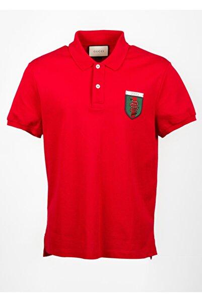 Gucci Erkek Kırmızı Tişört