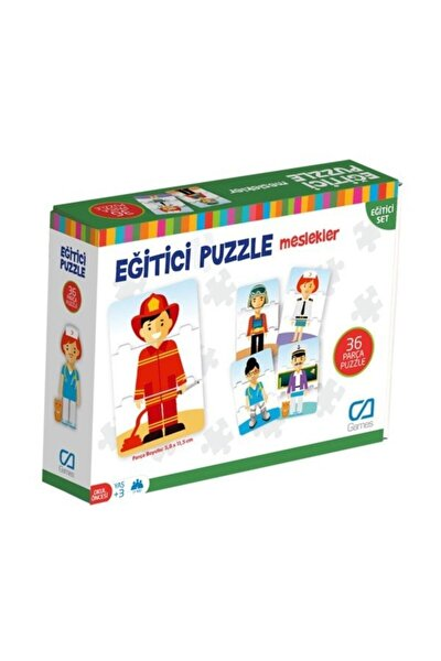 CA Games Meslekler - Eğitici Puzzle - Null