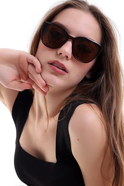 Della Pianto Kadın Kahverengi Güneş Gözlüğü