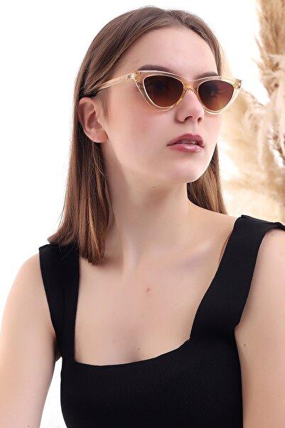 Della Pianto Cat Eye Klasik Bal Güneş Gözlüğü