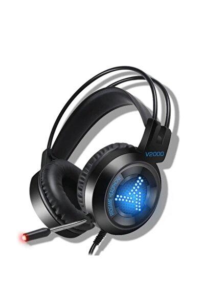 Platoon Pl-2413 Işıklı Gaming Oyuncu Mikrofonlu Kulaklık