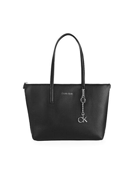 Calvin Klein Aksesuar Detaylı Fermuarlı Çanta Kadın Çanta K60k607881 Bax