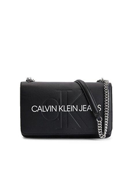 Calvin Klein Marka Logolu Zincir Detaylı Ayarlanabilir Askılı Çanta Kadın Çanta K60k607463 Bds