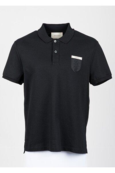 Gucci Erkek Siyah Tişört