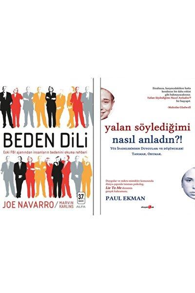 Betonsu Tasarım Beden Dili / Joe Navarro + Yalan Söylediğimi Nasıl Anladın? / Paul Ekman - 2 Kitap Set