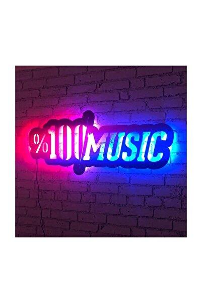 DMC Design %100 Music Led Işıklı Duvar Tablosu