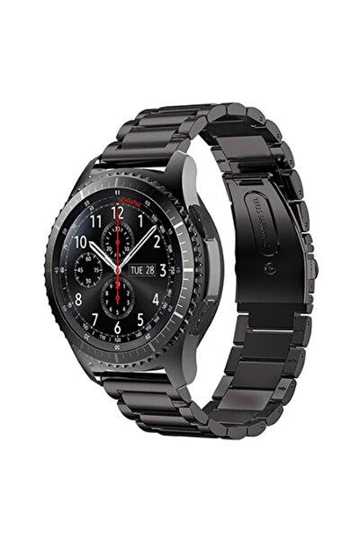 Samsung Galaxy Watch Gear S3 (22mm) Krd-04 Akıllı Saat Kordonu Metal Kordon Kayış Bileklik
