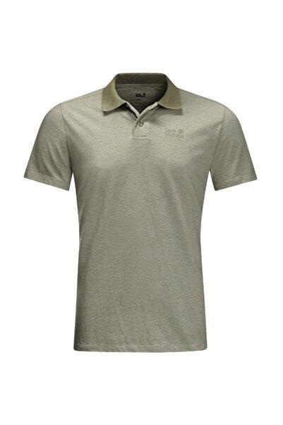 Jack Wolfskin Pokut Polo M Erkek Polo T-shirt