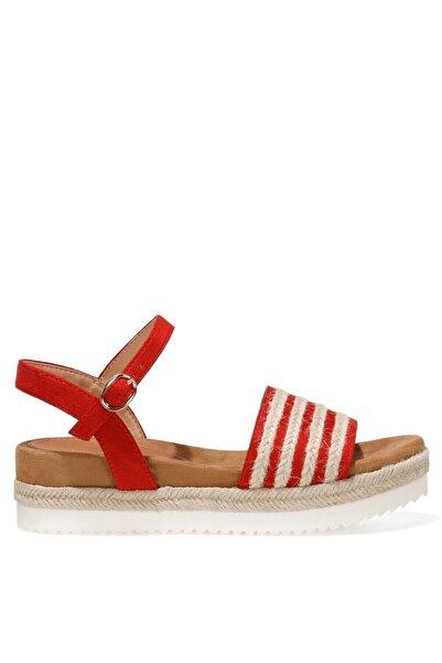 Nine West NURUNA 1FX Kırmızı Kadın Düz Sandalet 101008604