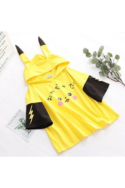 öz taha Pikachu Kore Tarzı T-shirt Kore001