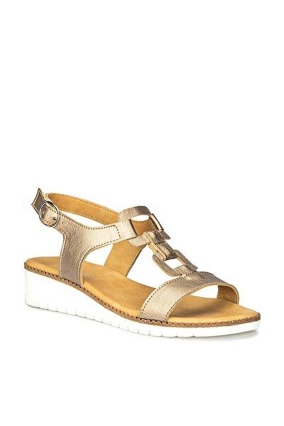 Polaris 71.157376.Z Altın Kadın Sandalet 100250548