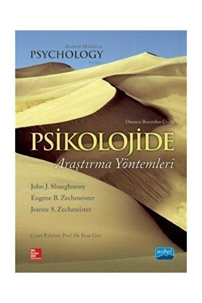 Nobel Akademik Yayıncılık Psikolojide Araştırma Yöntemleri