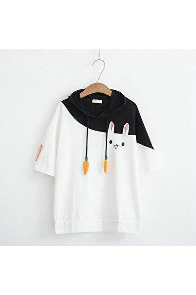 trendypassion Rabbit Kore Tarzı T-shirt Kore006