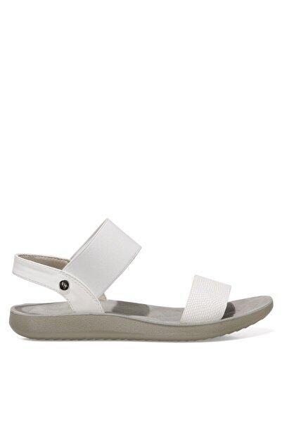Nine West FRANKY 1FX Beyaz Kadın Düz Sandalet 101027472