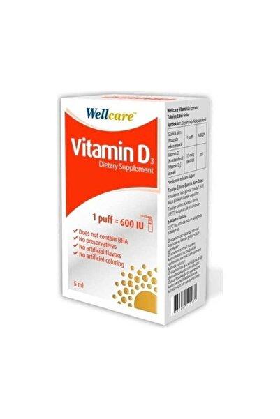 Wellcare Vitamin D3 600 Iu 5 ml