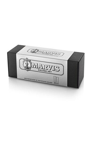 Marvis Diş Macunu Ve Tutacağı Seti Beyazlatıcı