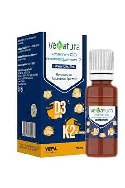 Vitamin D3 Ve Menaquinon 7 Takviye Edici Gıda