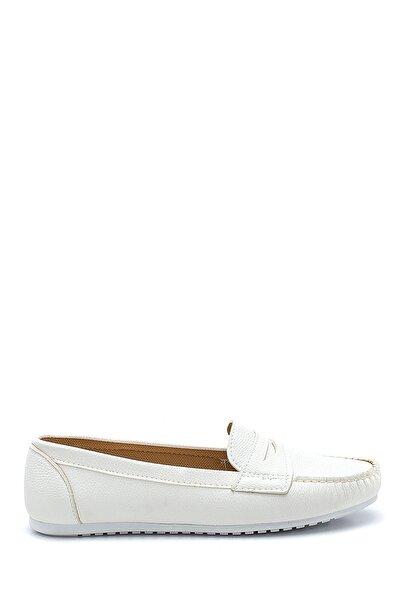 Derimod Kadın Beyaz Loafer