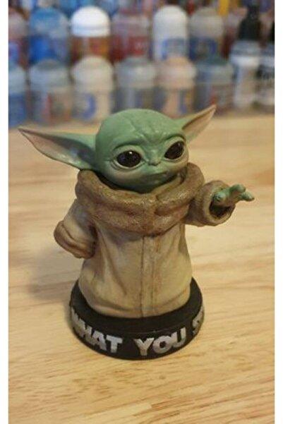 3 boyutlu dükkan Yoda Figür Baby Yoda Bebek Yoda (hediye Kutulu)