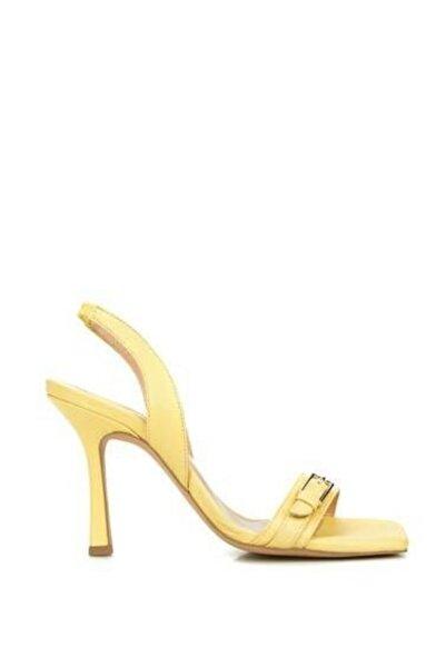 Dıvarese Kadın Sarı Sandalet