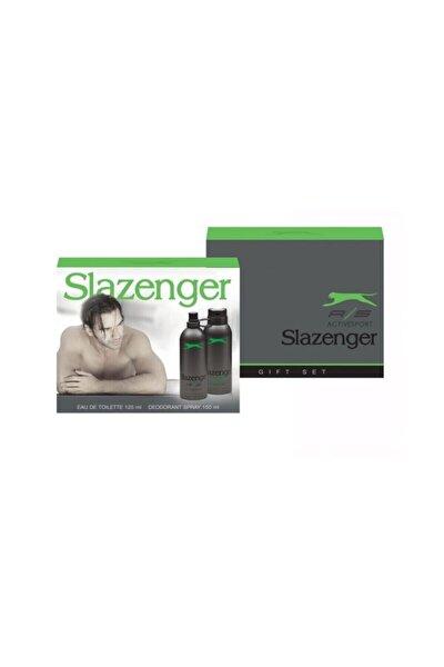 Slazenger Activesport Edt 125 ml Erkek Parfüm Set 8690587201109dmk