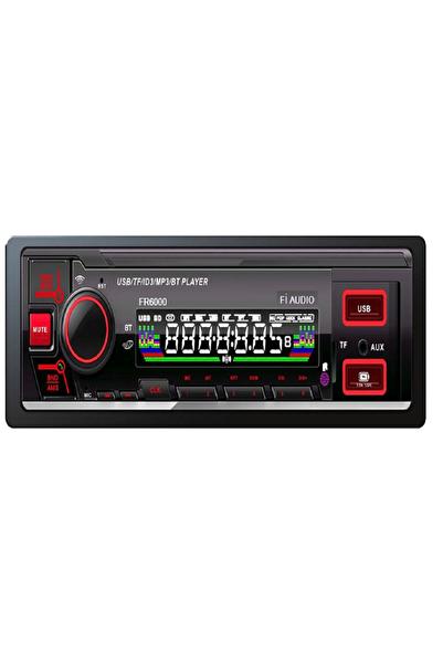 Kenwood Fi Audio Fr7000 Araba Oto Teyp Bluetooh Usb Sd Kart Radyo Rgb Tuş ve Ekran Işığı Amfi Çıkışlı Teyp