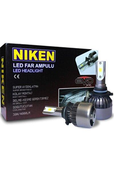 Niken Xenon Far Zenon Far Led Ampül H4 Şimşek Etkili Fan Soğutmalı