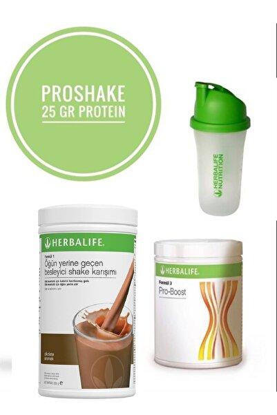 Herbalife Proshake ( Çikolatalı Shake, Pro-boost, Shaker)