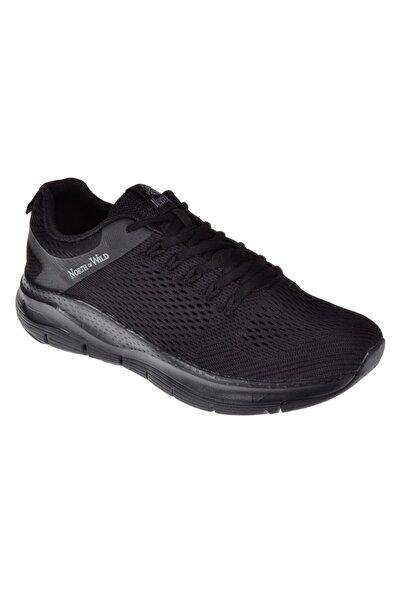 Friendly Memory Foam Bağcıklı Erkek Spor Ayakkabı Sneakers Unreval-m Siyah-siyah