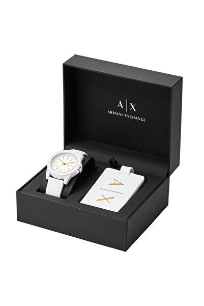 Armani Exchange Kadın Set Kol Saati Ve Valiz Etiketi