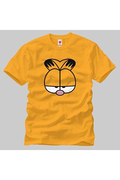 Built By Crazy Garfield Face Unisex Tişört