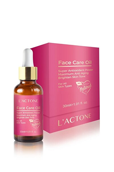 L'ACTONE Yüz Için Besleyici Serum - Face Care Oil 8681734007354