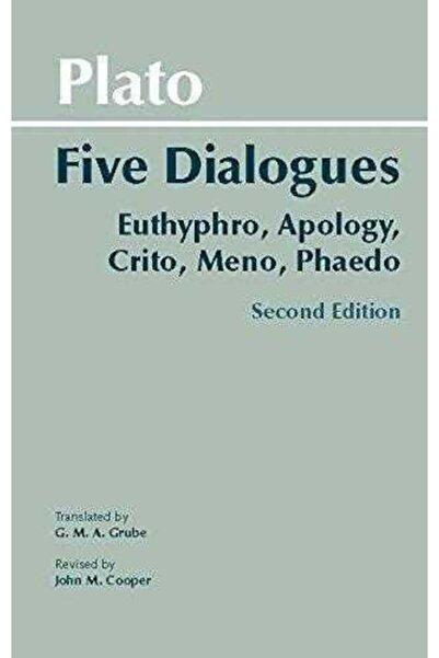 Hackett Plato,five Dialogues/plato