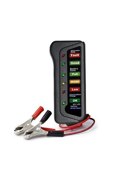 Streak Akü Test Cihazı 12 Volt Batarya Test Ölçme Alternatör Kontrol