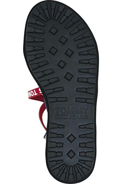 Tommy Hilfiger Color Block Cleated Düz Sandalet