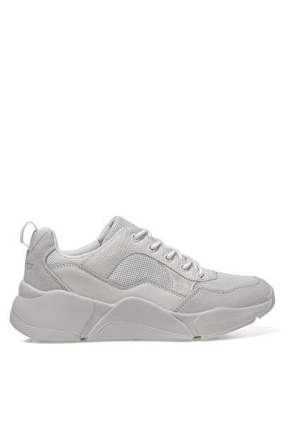 Nine West AWESO 1FX Gri Kadın Sneaker Ayakkabı 101015501