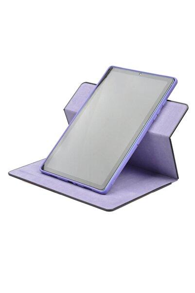 """Samsung Galaxy Tab S6 Lite P610 10.4"""" Tablet Kılıfı Yeni Nesil 360 Dönebilen Dışı Deri Içi Yumuşak Silikon"""