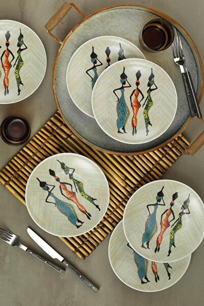 Kütahya Porselen Zeugma Pasta Seti  6'lı 85371