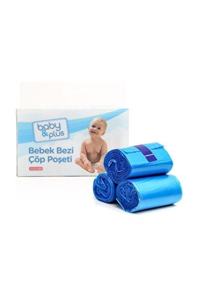 Baby&Plus Bebek Bezi Çöp Poşeti 60 Adet