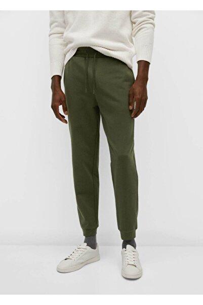 MANGO Man Pamuklu Penye Jogger Pantolon
