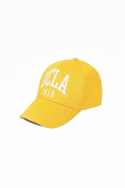 UCLA Ballard Sarı Baseball Cap Nakışlı Şapka