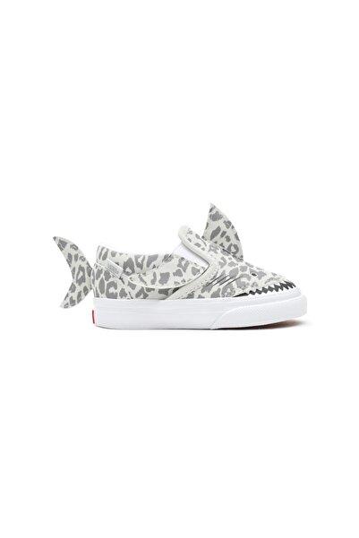 Vans Td Slip-on V Shark Leopard Shark Unisex Çocuk Sneaker