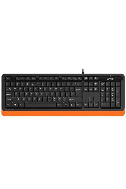 A4 Tech Fk10 Usb Q Trk Siyah/turuncu Multimedya Klavye
