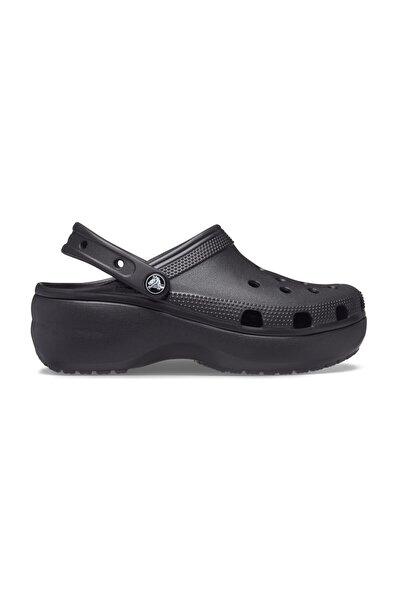 Crocs Siyah Kadın Classic Platform Clog W Terlik