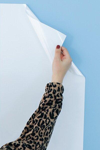 Evbuya 2 Adet 120 Cm-150 Cm Beyaz Yapışkansız Statik Tutunabilir Akıllı Kağıt Tahta
